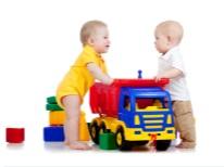 Grande camion per bambini in 1 anno