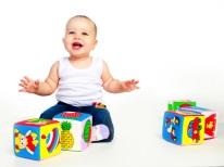 Cubos educacionais para criança de 1 ano