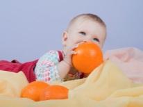 Oranje voor baby