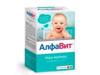 Alphabet Bayi kami - vitamin untuk kanak-kanak dalam 1 tahun