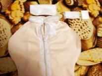 Fare il pannolino matrioska velcro per i bambini con le proprie mani