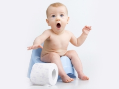 อาการท้องผูกในเด็กทารก