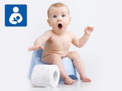 Obstipatie bij een baby tijdens de borstvoeding