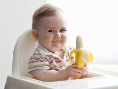 Van hoeveel maanden kun je een baby een banaan geven?