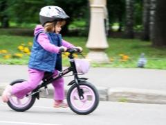 De runbike is een geweldig voertuig voor kinderen van 2 tot 5 jaar oud.