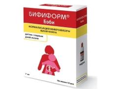 Bifiform เพื่อฟื้นฟูจุลินทรีย์ในลำไส้ในเด็ก