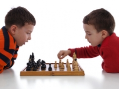 Tappetino per bambini a scacchi