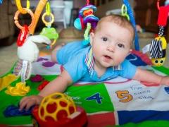 Sviluppare un tappeto per i bambini fai da te