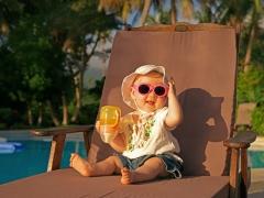 Acclimatisatie bij kinderen op zee