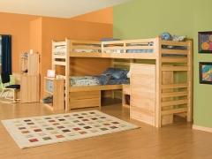 Scegliere un letto per tre bambini