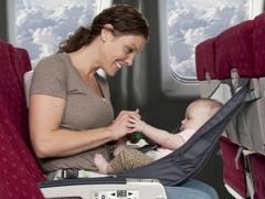 Penerbangan dengan bayi di atas kapal terbang
