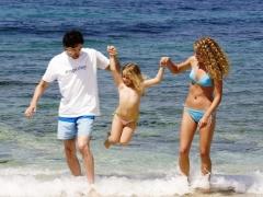 Vakantie met kinderen in de Zee van Azov
