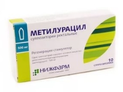ميثيلوراسيل للأطفال: تعليمات للاستخدام