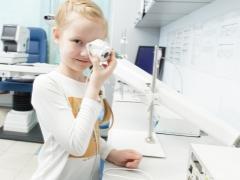 Trattamento della vista dell'apparato nei bambini