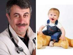 الدكتور كوماروفسكي حول شعر الأطفال وعما إذا كان من الضروري قطع طفل في السنة أصلع