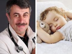 ดร. Komarovsky เกี่ยวกับการนอนกลางวันในเด็ก