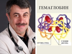 الدكتور كوماروفسكي حول الهيموغلوبين عند الأطفال