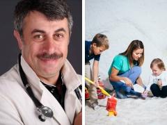الدكتور كوماروفسكي حول فوائد كهف الملح