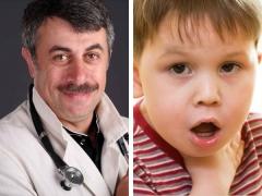 دكتور كوماروفسكي حول ما يجب القيام به إذا كان للطفل صوت صوتي