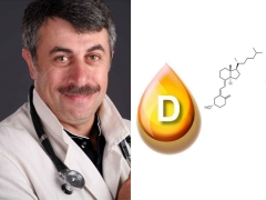 الدكتور كوماروفسكي حول فيتامين د