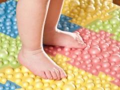 Tappetino da puzzle ortopedico per bambini da piede piatto