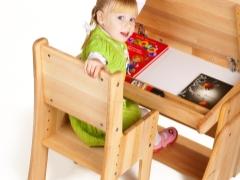 Kerusi kayu kanak-kanak: ciri pilihan