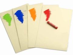 Kertas pastel: ciri pilihan