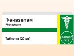 Phenazepam: تعليمات للاستخدام للأطفال