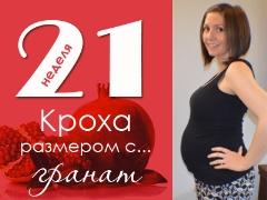 21 أسبوعًا من الحمل: ماذا يحدث للجنين والأم الحامل؟