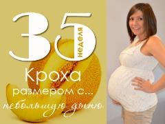 35 أسبوعًا من الحمل: ماذا يحدث للجنين والأم الحامل؟