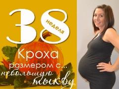 38 สัปดาห์ของการตั้งครรภ์จะเกิดอะไรขึ้นกับทารกในครรภ์และมารดาที่คาดหวัง