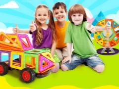 Designer magnetici per bambini da 3 anni: come scegliere un'opzione sicura?