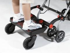 Papan kaki untuk anak kedua pada kereta: apa yang perlu?