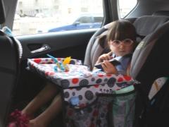 Scegliere un tavolo per bambini per il seggiolino auto