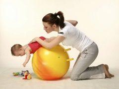การออกกำลังกายบำบัดสำหรับเด็กอายุต่ำกว่าหนึ่งปี