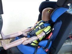 Ujian kejutan kerusi kereta kanak-kanak: model paling selamat dan berkualiti
