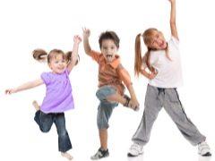 เต้นออกกำลังกายสำหรับเด็ก