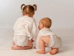 Le sottigliezze della scelta e l'uso di pannolini per le ragazze