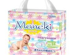 Scegliere i pannolini Maneki