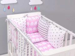 การเลือกผ้าปูเตียงในเปลสำหรับทารกแรกเกิด