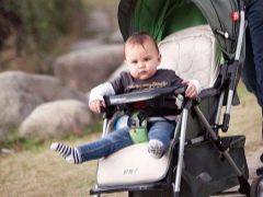 Kereta bayi GB: ciri dan jenis