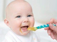 สูตรและกฎสำหรับการใช้น้ำซุปข้นผักทารก