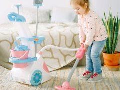 Aspirapolvere per bambini: caratteristiche e suggerimenti per la scelta