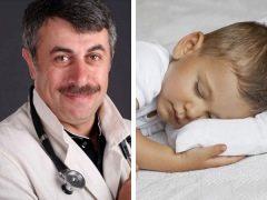 ดร. Komarovsky เกี่ยวกับอายุที่เด็กต้องการหมอน
