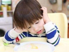 Wat als het kind geen pap eet?