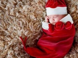 Menjahit kepompong untuk bayi baru lahir