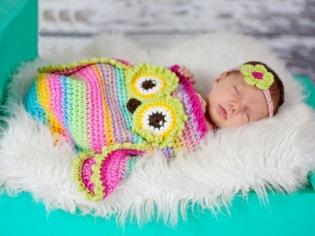 Cocoon untuk bayi baru lahir untuk bersatu