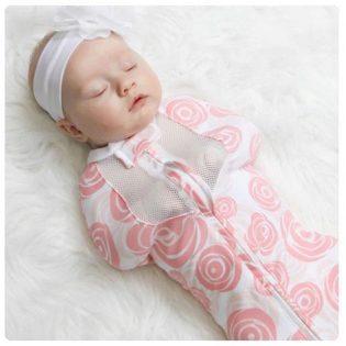 Lampin cocoon untuk bayi baru lahir