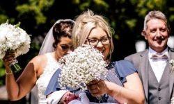 De la navă la minge: o femeie care a lucrat la muncă a venit la nunta surorii sale cinci ore după naștere