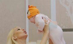 47 de ani, Leru Kudryavtseva, a început să felicite a treia sarcină